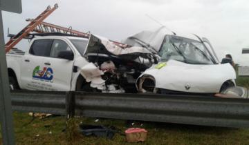 Imagen de Otra vez la Ruta 11: cinco muertos y un herido de gravedad