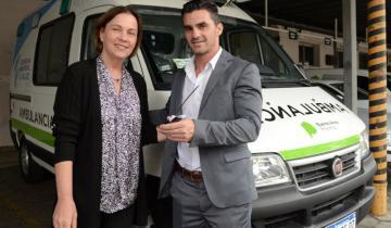 Imagen de Nueva ambulancia de alta complejidad para Castelli