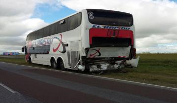 Imagen de Cambio de quincena accidentado en la Ruta 11
