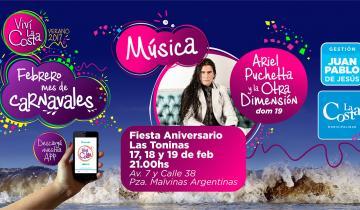 Imagen de Cuáles son los espectáculos para celebrar el aniversario de Las Toninas