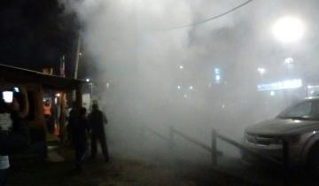 Imagen de Incendio y pánico en la Fiesta de la Cerveza en Santa Clara del Mar