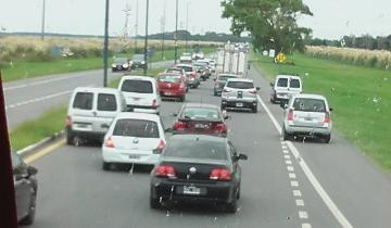 Imagen de La Ruta 11 ya está colmada y solicitan extrema precaución