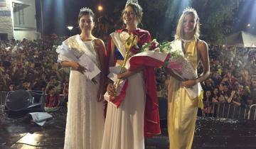 Imagen de Cerraron los carnavales en Castelli con nueva reina