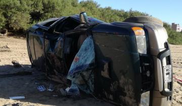 Imagen de Vuelco y muerte en la playa de San Bernardo