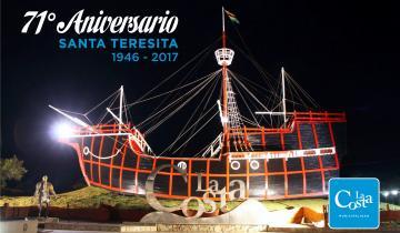 Imagen de Cuáles son los espectáculos programados para el aniversario de Santa Teresita