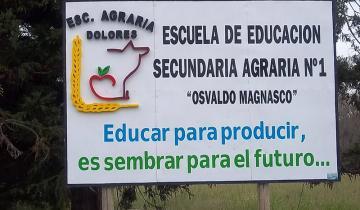 Imagen de La directora de la Escuela Agraria de Dolores, indignada por el robo de productos