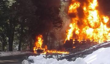Imagen de Cinco muertos en Ruta 7 Lagos: temen explosión tras un violento choque