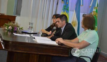 Imagen de Sebastián Echarren abrió las sesiones del Concejo Deliberante en Castelli