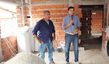 Imagen de Avanza la Sala de Primeros Auxilios y Biblioteca en el Barrio Autoconstrucción