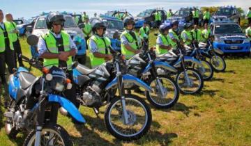 Imagen de Castelli compró seis motos nuevas para la Policía Comunal