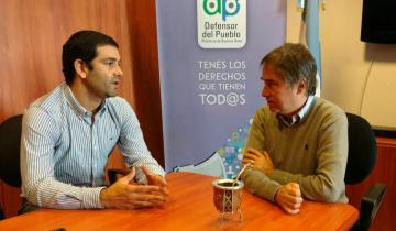 Imagen de De qué hablaron Juan Pablo García y Guido Lorenzino