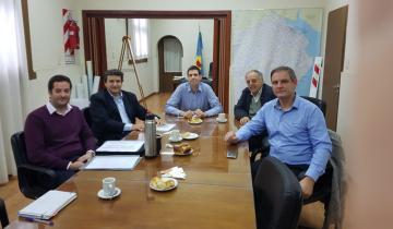 Imagen de Santoro se reunió con autoridades provinciales por la Ruta 11