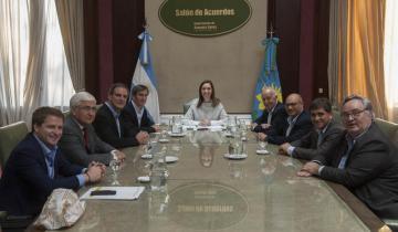 Imagen de Los intendentes lograron un acuerdo con Vidal y los municipios no perderán recursos