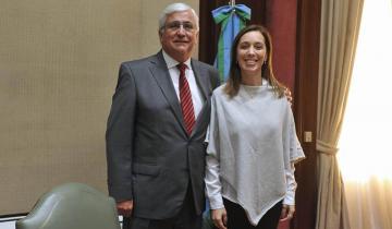 Imagen de De qué hablaron el intendente Loubet y la gobernadora Vidal