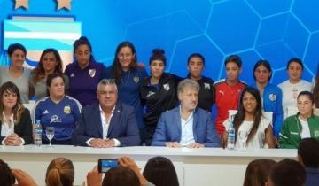 Imagen de Es oficial: se profesionaliza el fútbol femenino en la Argentina
