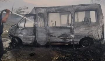 Imagen de Seis muertos en un choque causado por el humo de los incendios en Brasil