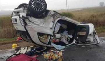 Imagen de Impactante accidente en la Ruta 29: tres personas internadas en grave estado