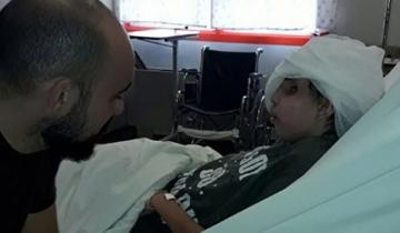 Imagen de Abel Pintos visitó en el Hospital Garrahan a Thiago, un nene de 13 años con cáncer