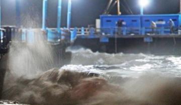 Imagen de Alerta por crecidas de hasta tres metros en toda la Costa Atlántica