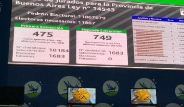 Imagen de Se conocieron los números de documento que podrán ser convocados a los juicios por jurados