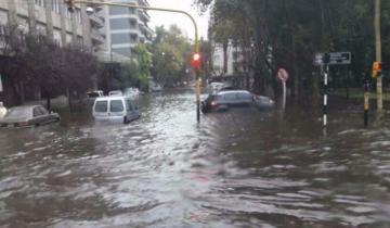Imagen de Familias evacuadas y escuelas sin clases por las fuertes lluvias en la región