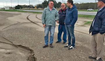 Imagen de Reunión en La Plata por las obras que la Provincia debe realizar para solucionar los problemas de drenaje de las aguas en La Costa