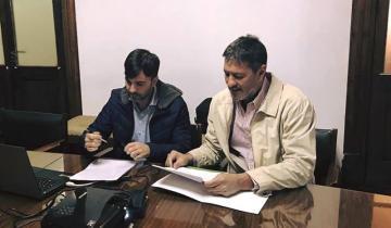 Imagen de Echarren firmó convenios de cooperación con el intendente mendocino de Maipú