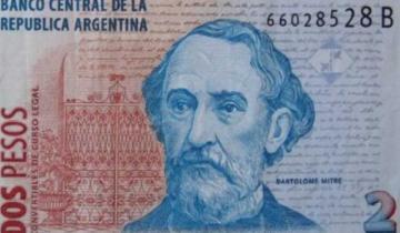 Imagen de Este jueves es el último día para canjear o depositar los billetes de dos pesos