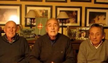 Imagen de El video que grabaron los integrantes de la Expedición Atlantis rumbo a los 35 años de la gesta