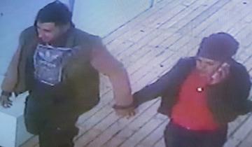 Imagen de Cámaras de seguridad captaron cómo una pareja robó en un balneario