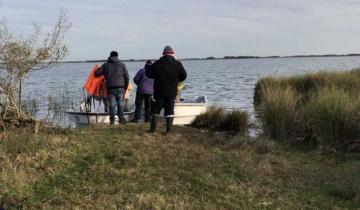 Imagen de Continúa la angustiante búsqueda del hombre desaparecido en la laguna Los Horcones