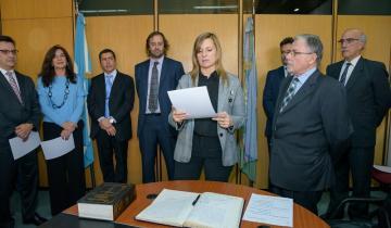 Imagen de La senadora Gabriela Demaría ya integra el Consejo de la Magistratura