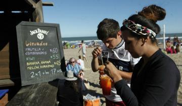 Imagen de Desde el verano las bebidas en pinamar se venderán sin sorbete
