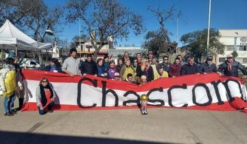 Imagen de En Chascomús, la filial local de Estudiantes (LP) realizó un locro solidario