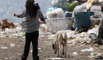Imagen de El 48% de los chicos del país son pobres y el 33% come en comedores
