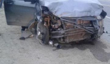 Imagen de Las Toninas: tres heridos en un grave accidente en la Ruta 11