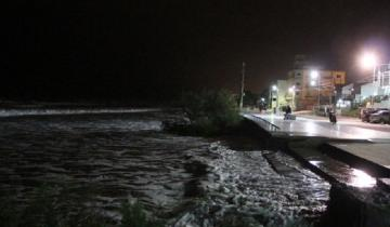 Imagen de Alertan por crecida del mar entre San Clemente del Tuyú y Mar del Plata