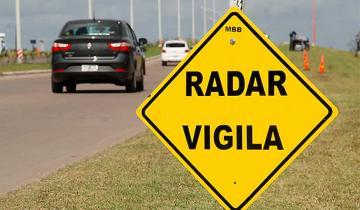Imagen de Increíble confusión por un cartel de velocidad máxima en la Ruta 2