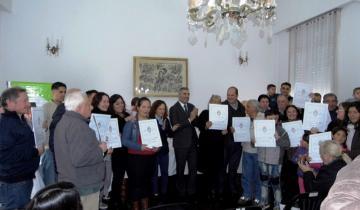 Imagen de Nueva entrega de escrituras a familias de Tordillo