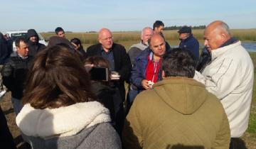 Imagen de La Provincia diseña plan de manejo del agua junto a técnicos holandeses