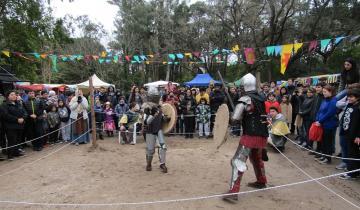 Imagen de Vikingos y combates medievales en los bosques de Villa Gesell