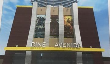 Imagen de Continúan los trabajos en Castelli para recuperar el Cine Avenida