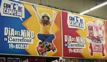 Imagen de La campaña sexista que Carrefour debió retirar