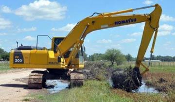Imagen de General Lavalle: llegan vehículos para trabajar en zonas de desastre y emergencia