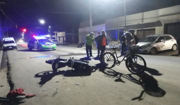 Imagen de Tres accidentes de moto en media hora