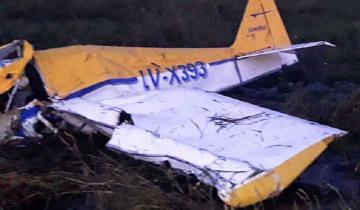 Imagen de Tragedia aérea: se mataron dos hermanos al caer con la avioneta que habían fabricado