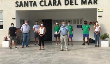 Imagen de Mar Chiquita: la ministra de Trabajo de la Provincia destacó la tarea que realiza el intendente Paredi