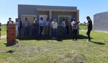 Imagen de Dolores: entregaron viviendas en el barrio Illia
