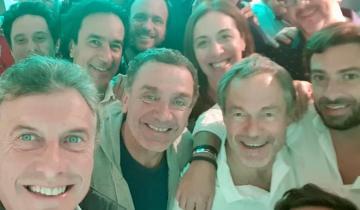 Imagen de Mauricio Macri también participó del retiro organizado por Vidal