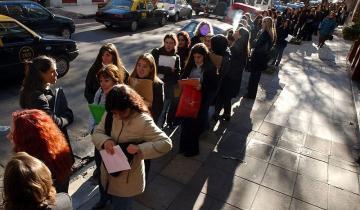 Imagen de Caída del empleo: en un año se perdieron 106.400 puestos de trabajo
